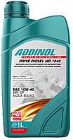 Моторное масло ADDINOL 10W40 DRIVE DIESEL MD1040 1l