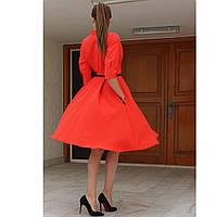 Королевское дизайнерское платье красного цвета