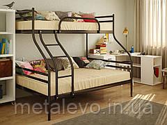 Двухъярусная металлическая кровать СМАРТ (SMART)  ТМ Метакам
