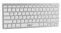 Беспроводная клавиатура для компьютера UKC BK3001 для телевизора ноутбука пк для смарт тв планшета 1006699-Silver-1
