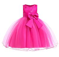 Платье шампань бальное выпускное нарядное для девочки в садик или школу, фото 1