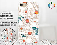 Силиконовый чехол для Xiaomi Redmi 6 Pro Море Ромашек (31052-3142)