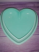 Силиконовая форма для десертов Сердце большое