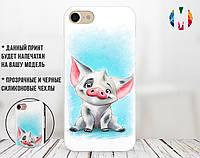 Силиконовый чехол для Xiaomi Redmi 6A Disney pig (31051-3084)
