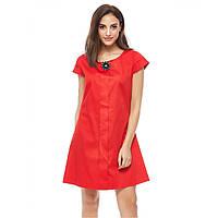 Женское красное дизайнерское платье