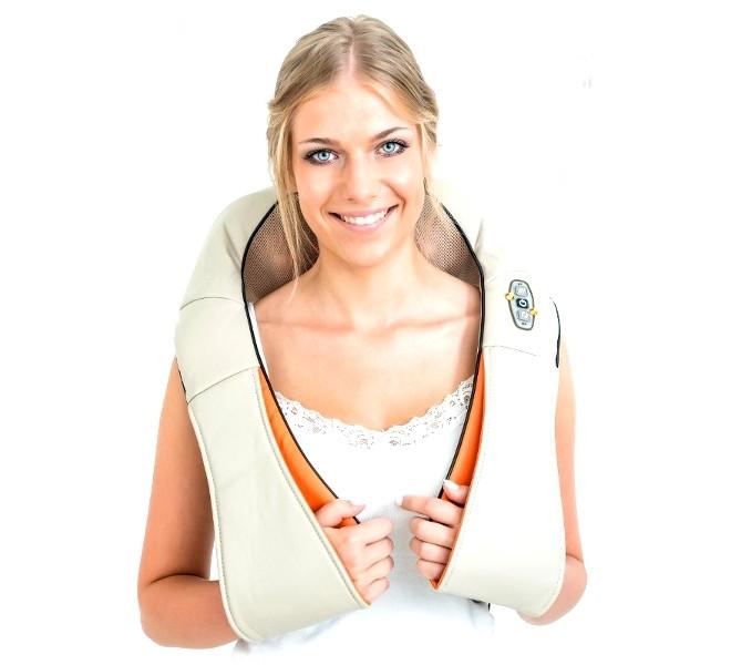 Роликовий масажер для шиї і спини Zenet ZET-757 оригінал