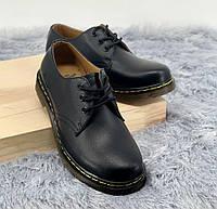 Dr. Martens Boots 1461 Black | дерби; мужские и женские; мартинсы; черные; туфли / мокасины; кожаные