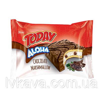 Бисквит  Today Aloha с маршмелоу и шоколадом , 45 гр