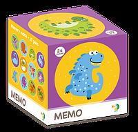 Настольная Игра МЕМО Динозавры Найди Пару Развивающая Игра, ДОДО DODO 300142, 010553, фото 1
