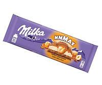 Milka молочный шоколад с карамелью и цельным фундуком 300 гр