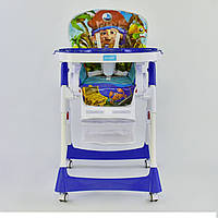 Стульчик для кормления JOY J 1750 синий, фото 1