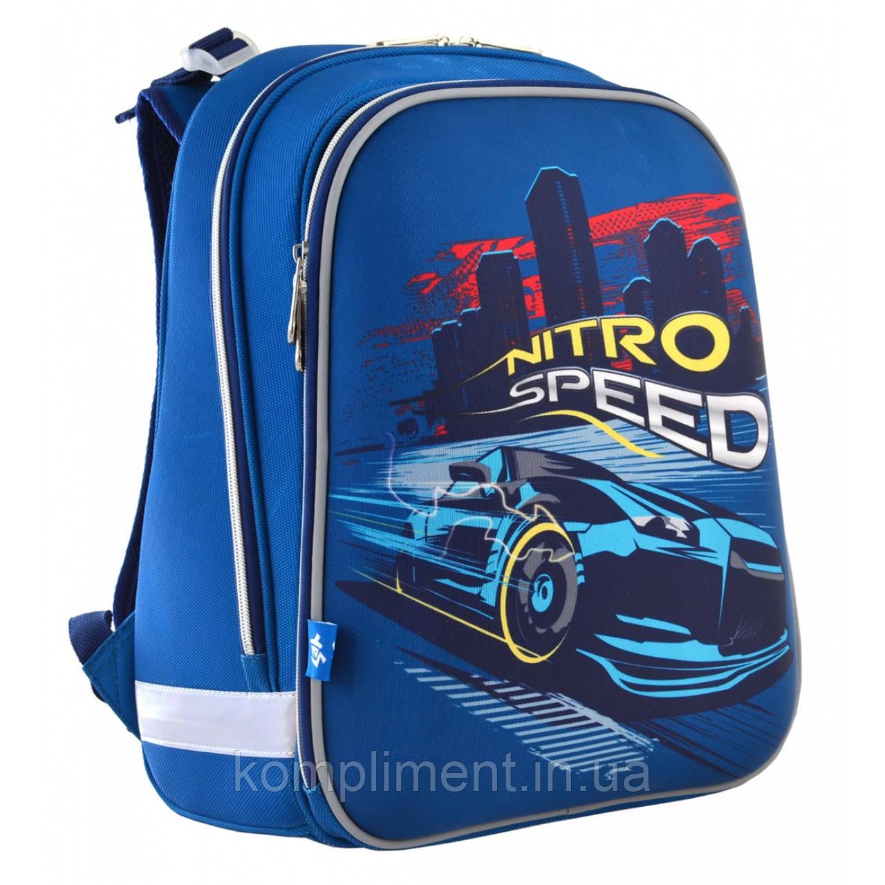 """Рюкзак школьный каркасный ортопедический для мальчика Н-12  """"Nitro Speed"""""""