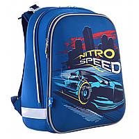 """Рюкзак школьный каркасный ортопедический для мальчика Н-12  """"Nitro Speed"""", фото 1"""