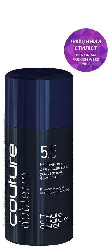 Креатив-гель для укладання волосся DUBLERIN ESTEL HAUTE COUTURE ультрасильна фіксація, 100 мл