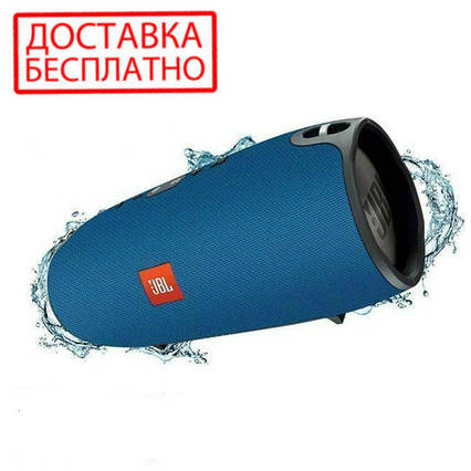 Портативная колонка JBL Extreme mini. Bluetooth колонка jbl Extreme синяя, фото 2