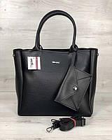 2в1 Молодежная сумка WeLassie Аланна черного цвета, фото 1