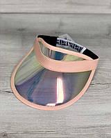 Молодежная Перламутровая кепка WeLassie с пудрой, фото 1