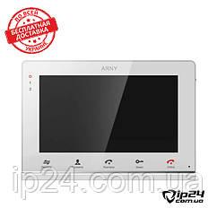 Сенсорный домофон Arny AVD-715M (White)
