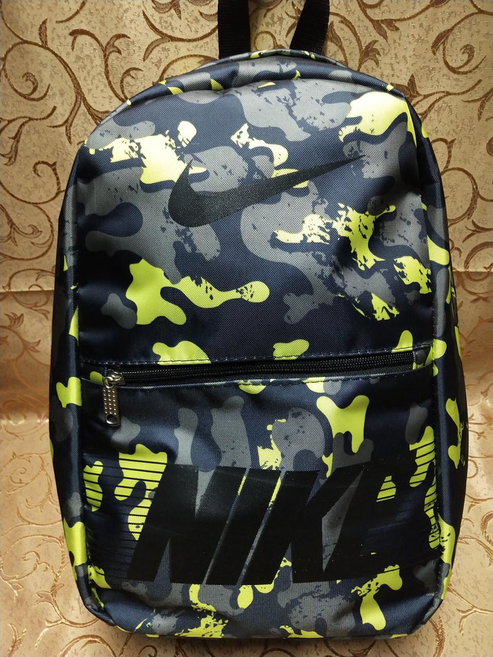 ПРИНТ рюкзак nike спортивный спорт городской стильный(только опт)