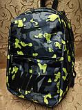 ПРИНТ рюкзак nike спортивный спорт городской стильный(только опт), фото 2
