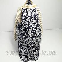 Пляжная текстильная летняя сумка для пляжа и прогулок, фото 2