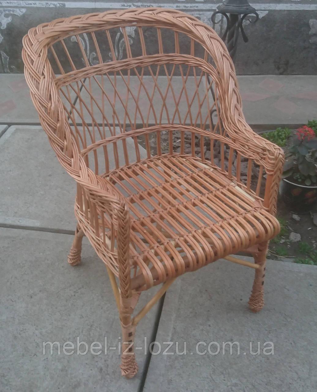 "Кресло из лозы ""Х. №3"""