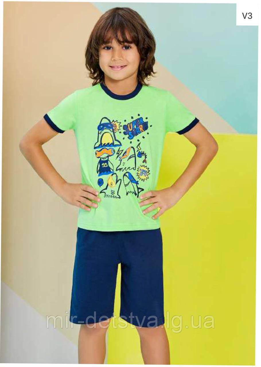Пижама (домашний костюм) для мальчика ТМ Roly Poly р.1, 4 года салатовый