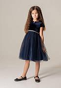 Бальное платье для девочки Гламур синее