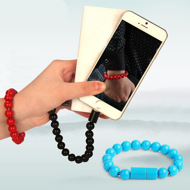 Кабель браслет Wearable Bracelet Charging Line