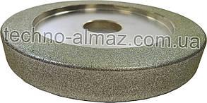Алмазный круг трехсторонний 14U1 150 20 20 20 32 (гальваника)