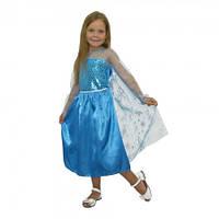 Маскарадный костюм Эльза Холодное сердце ( Длина 83 см)