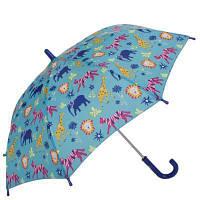Зонт-трость Fulton Зонт-трость детский облегченный механический FULTON (ФУЛТОН) FULC724-Jungle-Chums