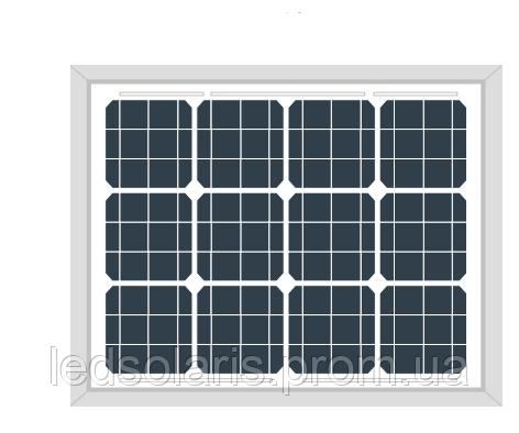 Монокристаллическая солнечная батарея AKM (М) 30 Вт
