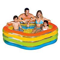 Детский надувной бассейн  Intex 56495 Звезда 185х180х53см