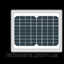 Монокристаллическая сонячна батарея AKM (М) 10 Вт
