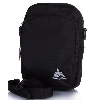 Сумка спортивная Onepolar Мужская спортивная сумка ONEPOLAR (ВАНПОЛАР) W5673-black