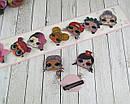 Детские заколки уточки для волос куклы LOL 4 см 10 шт/уп., фото 4
