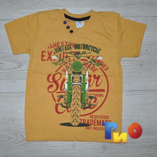 """Детская трикотажная футболка """"Trademark"""" , для мальчиков (5, 6,7, 8 лет) (4 ед в уп)"""