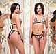 """Женский стильный раздельный купальник 1074 """"Бикини Люрекс Питон Блеск"""", фото 3"""