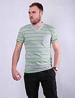 Мужская футболка летняя хлопковая, фото 1