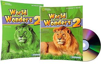Английский язык / World Wonders. Student's+Workbook+CD, Учебник+Тетрадь (комплект), 2 / NGL