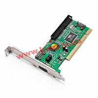 Контролер накопичувача PCI->SATA 7p,+eSATA +IDE RAID 0/ 1/ 0+1/ JBOD,Standart (70.07.0156-3)