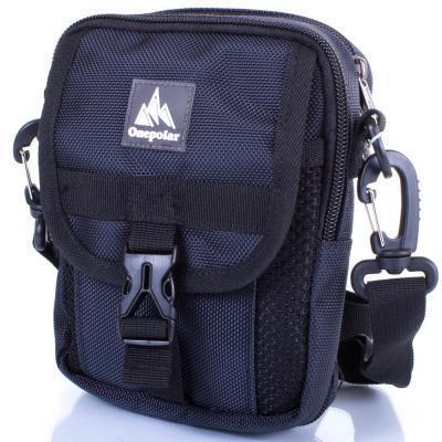 Сумка спортивная Onepolar Мужская спортивная сумка ONEPOLAR (ВАНПОЛАР) W3176-navy