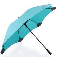 Зонт-трость Blunt Противоштормовой зонт-трость женский механический с большим куполом BLUNT (БЛАНТ) Bl-xl-2-mint-green