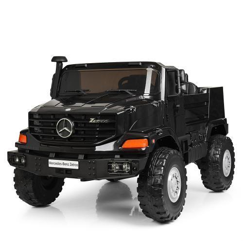 Электромобиль детский двухместный Джип M 3990EBLR-2 черный
