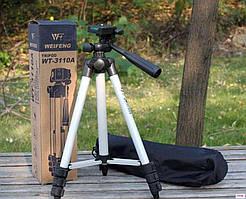 Штатив для камеры смартфона телефона тримод wt 3110a, лёгкий, качественный, прочный, универсальный