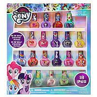 Детская косметика лак для ногтей Май Литл Пони 18 штук My Little Pony Set for Girls 18 Colors