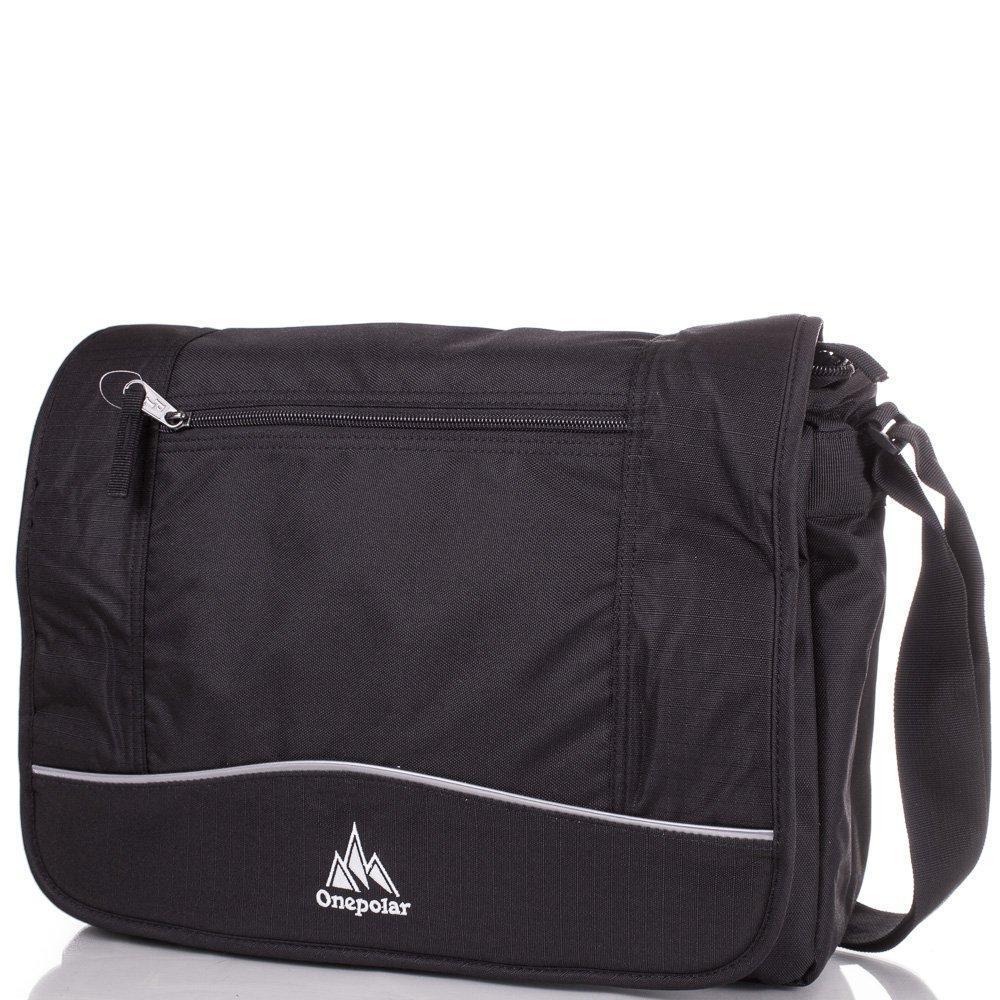 Сумка через плечо Onepolar Мужская сумка ONEPOLAR (ВАНПОЛАР) W308-black