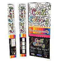 Раскраска Антистресс 4+ большая 70х50 см Cool coloring MAXI МАКСИ 4+ 1109 Стратег Strateg 009756