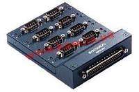 Соединительная коробка 8xRS-232 с DB9 male разъемами, соединительный кабель DB62-DB62 150с (Opt8-M9)